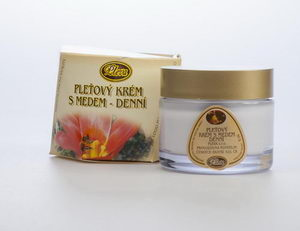 Skin - cream with honey day cream